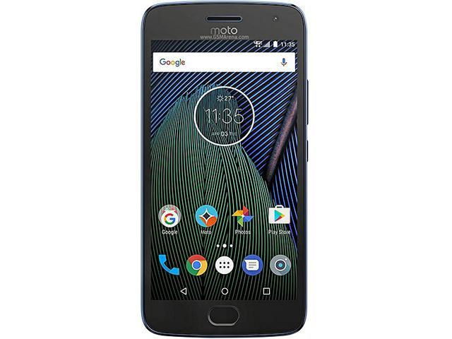 Moto G5 Plus (5th Gen), 5 2 Inches, FHD IPS, 2GB RAM, 32 GB Storage,  Unlocked Cell Phone, US Warranty, Lunar Grey (01110NARTL) - Newegg com