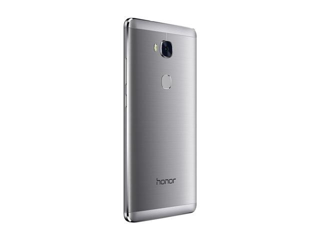 Honor 5X - Metal Body, Fingerprint Sensor, 5 5 Inch, 1080p FHD Display, 4G  LTE, Unlocked GSM Smartphone - USA Warranty - 16GB Gray - Newegg com