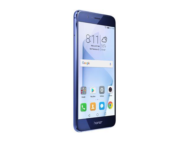 Huawei - Honor 8 Dual Camera Unlocked Smartphone 64GB Sapphire Blue - US  Warranty - Newegg com