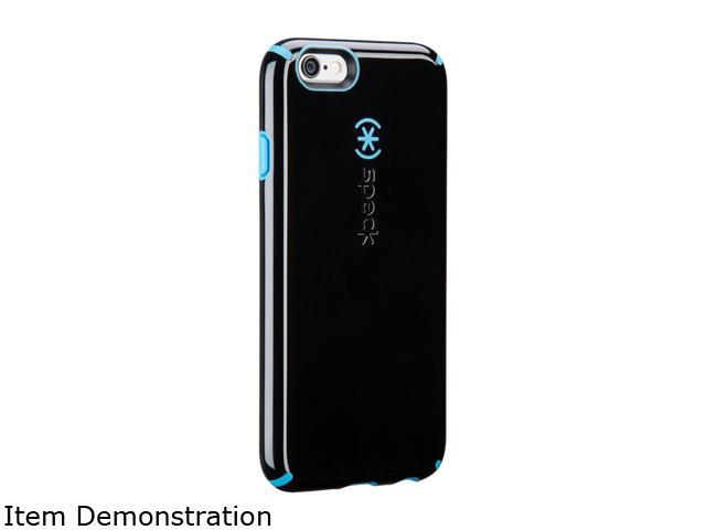 size 40 fd85b 926b9 Speck Products CandyShell + Faceplate Black/Jay Blue Case for iPhone 6 / 6s  71328-C061 - Newegg.com