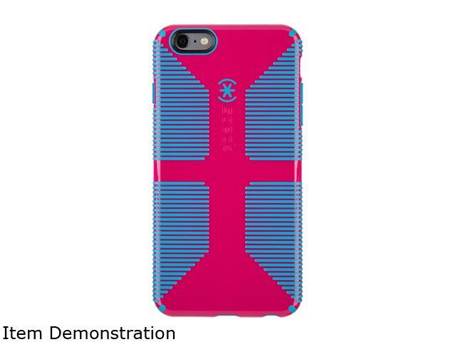 buy online 64511 74fd2 Speck Products CandyShell Grip Lipstick Pink/Jay Blue Case for iPhone 6  Plus / 6s Plus 73428-C064 - Newegg.com