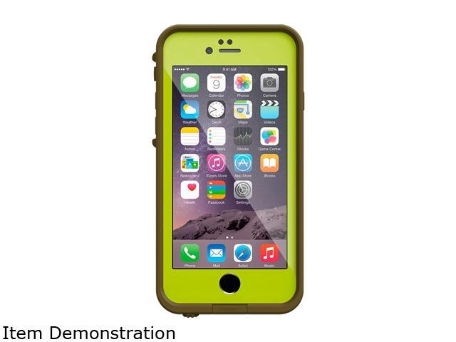 low priced 6a2b8 ad77e LifeProof FRE Xtra Lime Case for Apple iPhone 6 77-51705 - Newegg.com