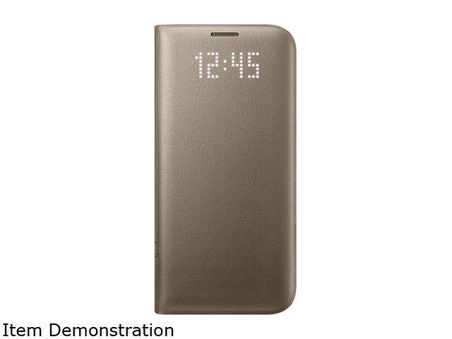 reputable site 35ec6 666b3 Samsung Galaxy S7 Edge LED View Cover Gold - EF-NG935PFEGUS - Newegg.com