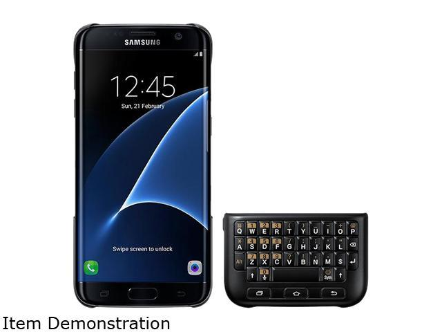 Samsung Galaxy S7 Edge Keyboard Cover - EJ-CG935UBEGUS - Newegg com