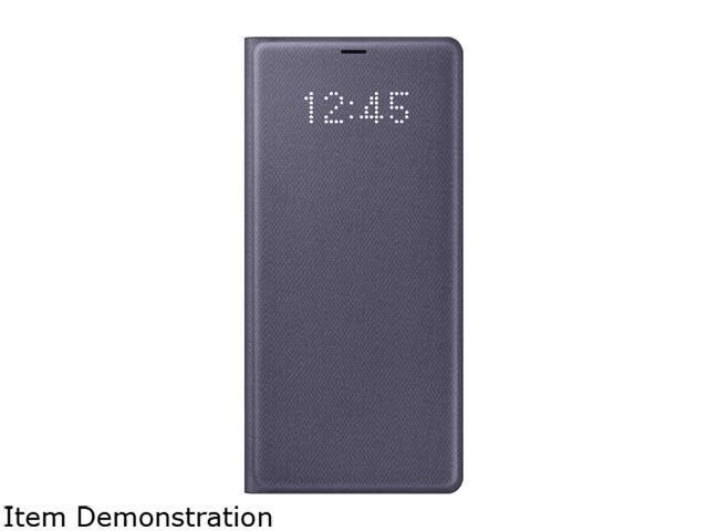 finest selection a039f f96e5 SAMSUNG Orchid Grey LED Wallet Cover for Samsung Galaxy Note 8  EF-NN950PVEGUS - Newegg.com