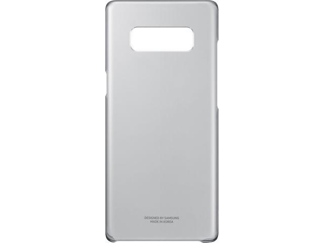 super popular 15744 f237b SAMSUNG Black Clear Protective Cover for Samsung Galaxy Note 8  EF-QN950CBEGUS - Newegg.com