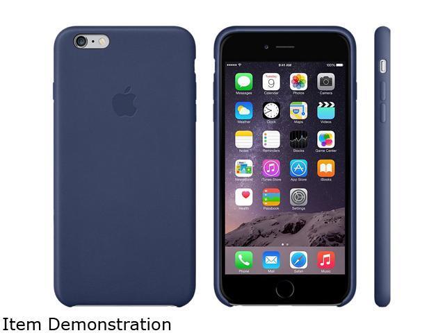 watch 6d476 1aaee Apple Midnight Blue iPhone 6 Plus Leather Case MGQV2ZM/A - Newegg.com