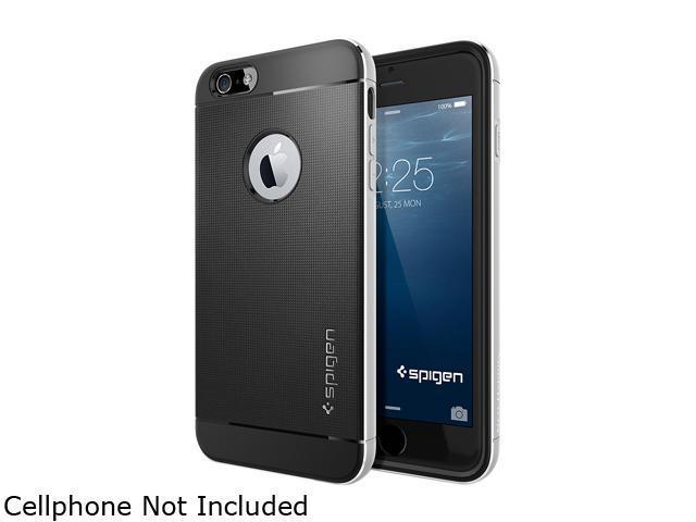 huge discount a4e2f f794f Spigen Neo Hybrid Metal Satin Silver Case for iPhone 6 Plus (5.5
