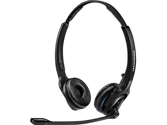 Sennheiser Mb Pro 2 Uc Ml 506046 Black Stereo Bluetooth Headset With Dongle And Lync Newegg Com
