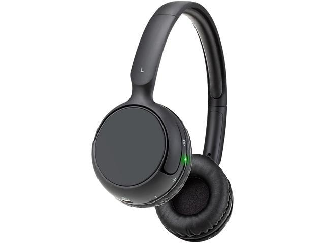 GOgroove BlueVIBE RLX Wireless ComfortFit Bluetooth Headphones w/ Wireless Playback Controls for Smartphones, Tablets