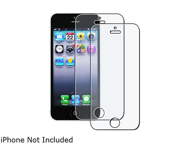 timeless design e790b f13c6 Insten 1X 2 Pieces Anti-Glare Screen Protector For iPhone 5 739013 -  Newegg.com