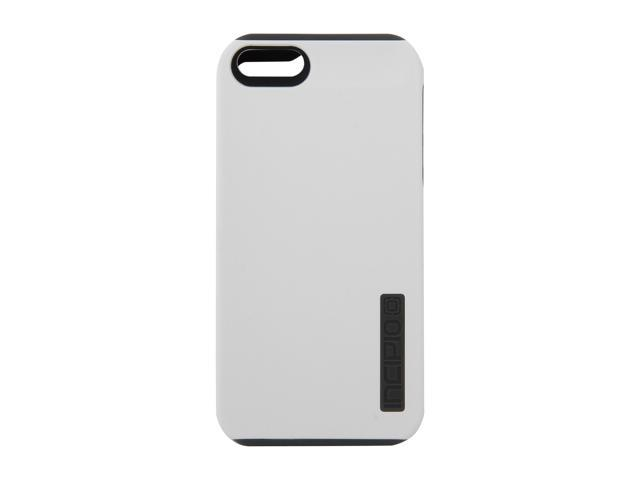 Incipio SILICRYLIC DualPro White Gray Hard Shell Case w Silicone Core for iPhone 5 IPH 818
