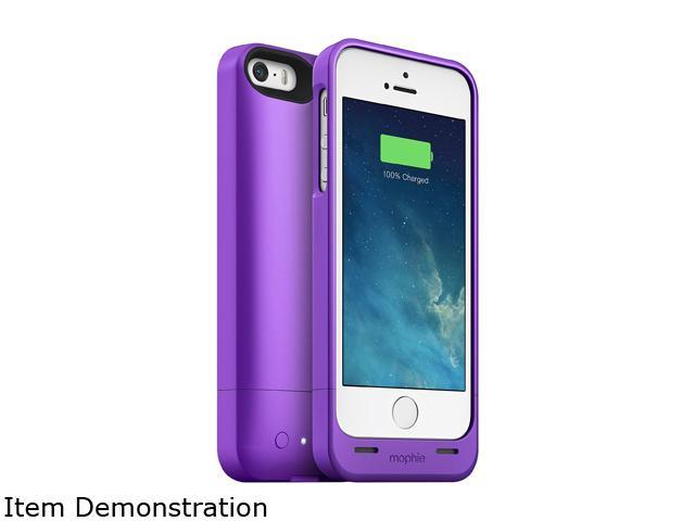 online store b0aa5 ed56f Mophie Juice Pack Helium 2468 for iPhone 5 / 5s / SE - Purple - Newegg.com