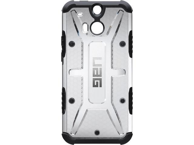 official photos ca164 abe71 Urban Armor Gear Ice Case for HTC One M8 w/ Screen Protector  UAG-HTCM8-ICE-W/SCRN-VP - Newegg.com