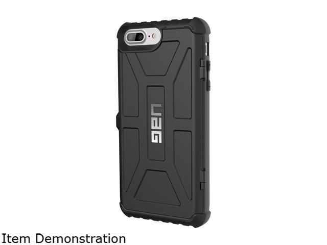 premium selection 0e849 e4aed UAG iPhone 8 Plus / iPhone 7 Plus / iPhone 6s Plus [5.5-inch screen]  Trooper Card Case [BLACK] Case - Newegg.com