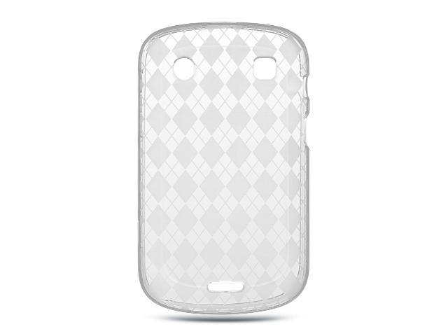 Luxmo Clear Clear Checker Design Case & Covers BlackBerry Bold  Touch/Dakota/9900/9930 - Newegg com