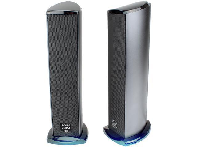 GOgroove SonaVERSE Ti 2 0 Ti Computer Speakers(US version) - Newegg com