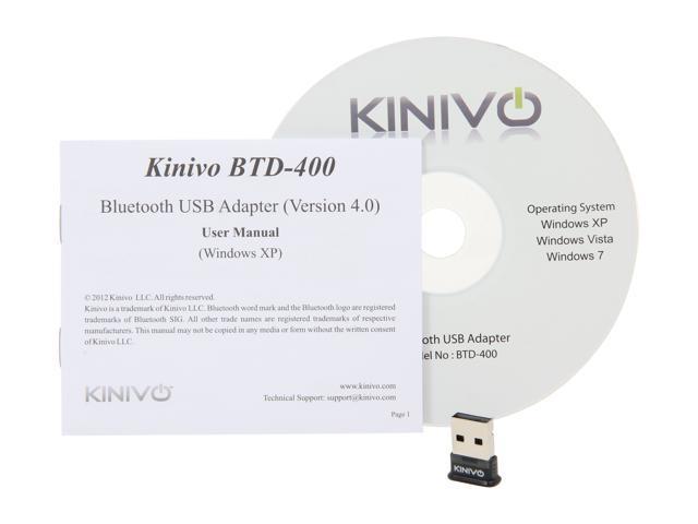 KINIVO BTD 400 TREIBER