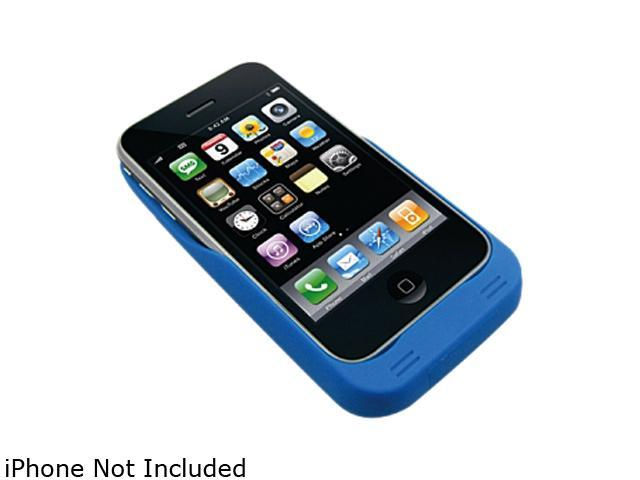 new style fd2a5 97eb3 My Solar Life iSolar Plus Blue Solar Powered Charger Case For iPhone 4 / 4S  msl104 - Newegg.com