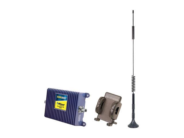 Wilson Electronics SIGNALBOOST Cell Phone Signal Booster Kit for Vehicle w/  Hands Free Cradle for Single User (811214) - Newegg com