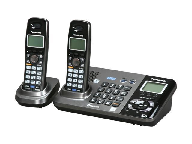 Panasonic KX TG9382T 19 GHz 24GHz Digital DECT 60 Bluetooth 2X Handsets