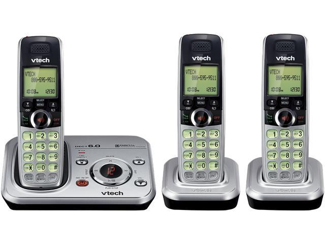 vtech cs6329 3 1 9 ghz digital dect 6 0 3x handsets cordless phones rh newegg com vtech cs6429 3 manual vtech cs6429 3 manual