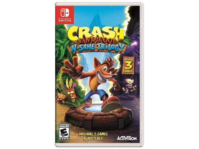 Crash Bandicoot N  Sane Trilogy - Nintendo Switch - Newegg com