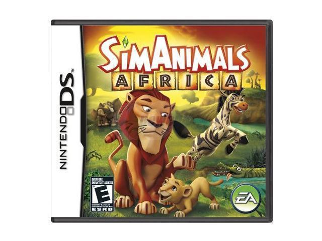 Sim Animals: Africa Nintendo DS Game - Newegg com