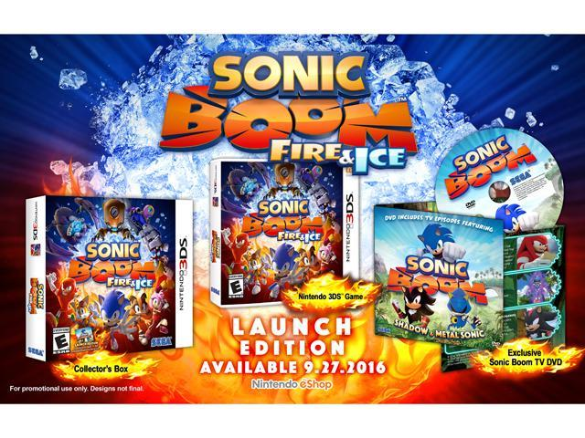 Sonic Boom Fire & Ice - Nintendo 3DS - Newegg com