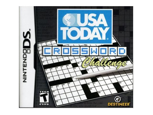 image about Usa Today Crossword Printable titled United states These days Crosswords Issue Nintendo DS Match -