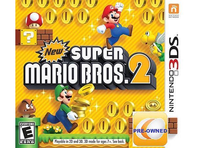 Pre-owned New Super Mario Bros  2 3DS - Newegg com