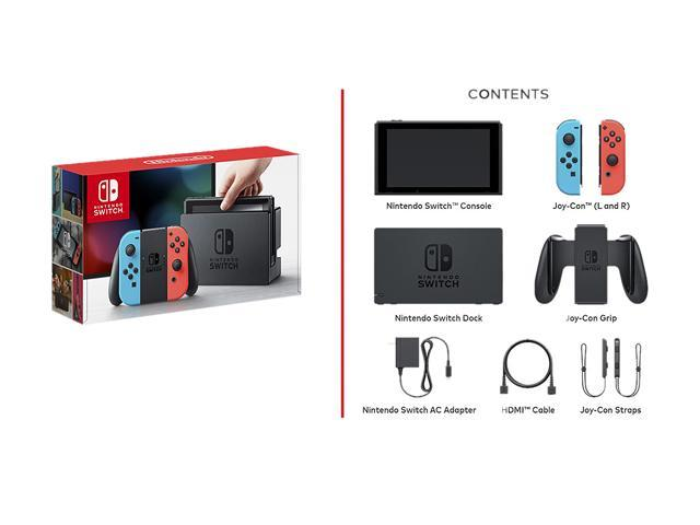 Nintendo Switch 32GB Console with Neon Blue and Neon Red Joy-Con -  Newegg com