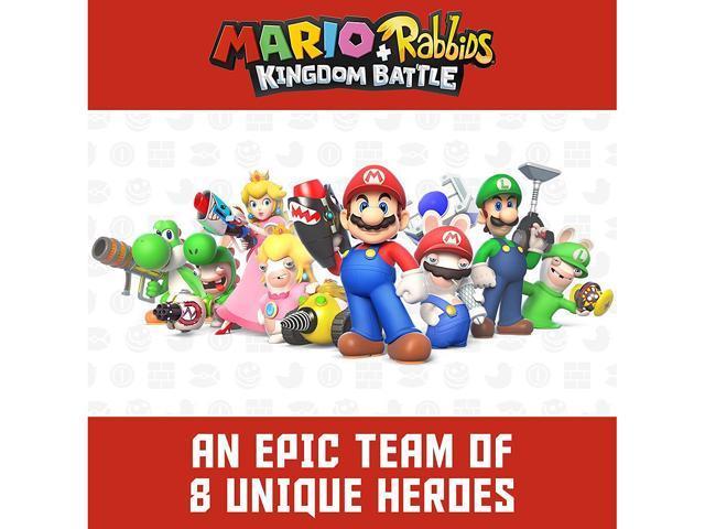 Mario + Rabbids Kingdom Battle - Nintendo Switch - Newegg com