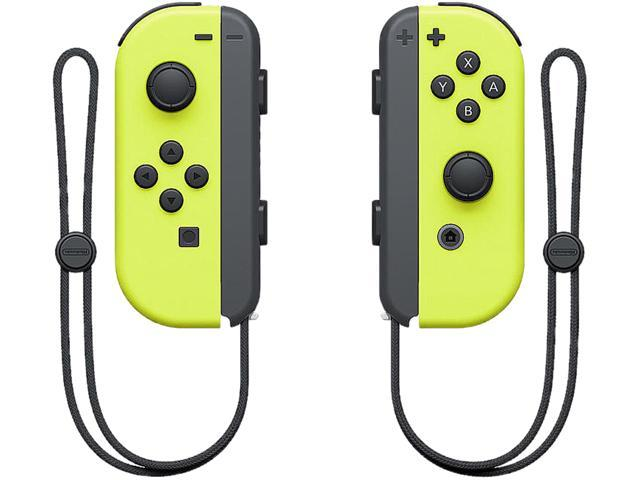 Nintendo - Joy-Con (L/R) Wireless Controllers for Nintendo Switch - Neon  Yellow - Newegg com