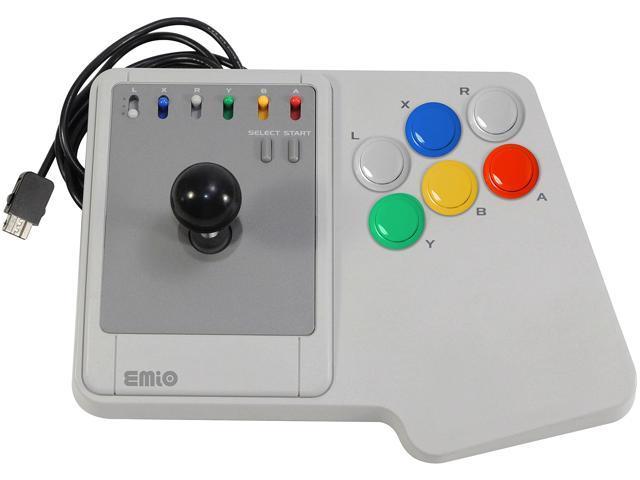 Emio The Edge Super Joystick for SNES Classic, NES Classic, Wii U, PC White  - Newegg com