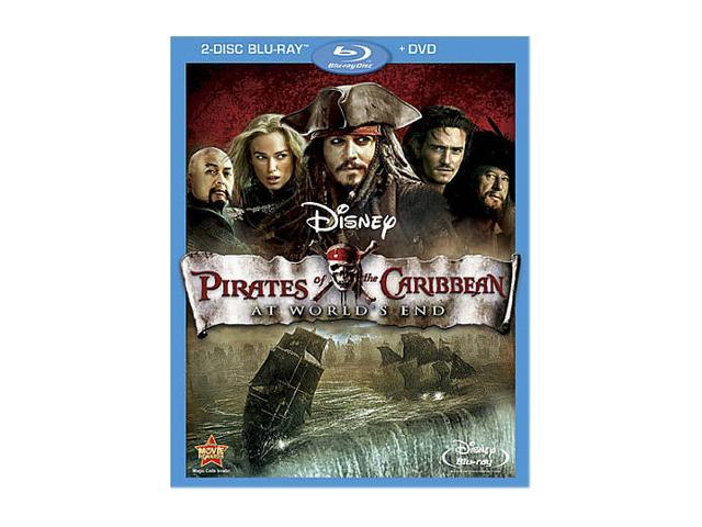 Pirates of the Caribbean: At World's End (DVD + Blu-ray Combo/WS) -  Newegg com