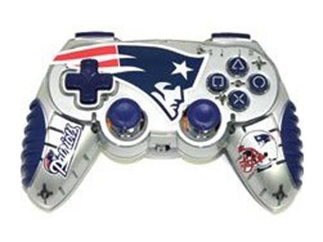 Mad Catz Officially Licensed New England Patriots NFL Wireless PS2  Controller - Newegg com