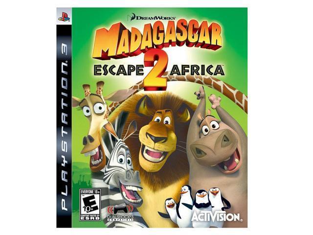 Madagascar Escape 2 Africa Playstation3 Game Newegg Com