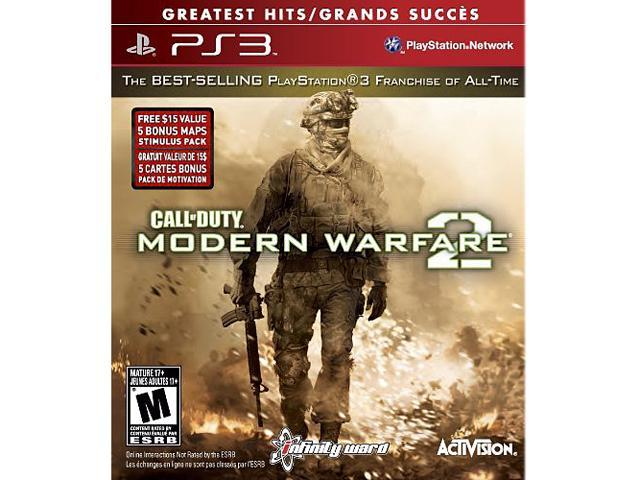 Call of Duty: Modern Warfare 2 Greatest Hits with DLC PlayStation 3 -  Newegg com