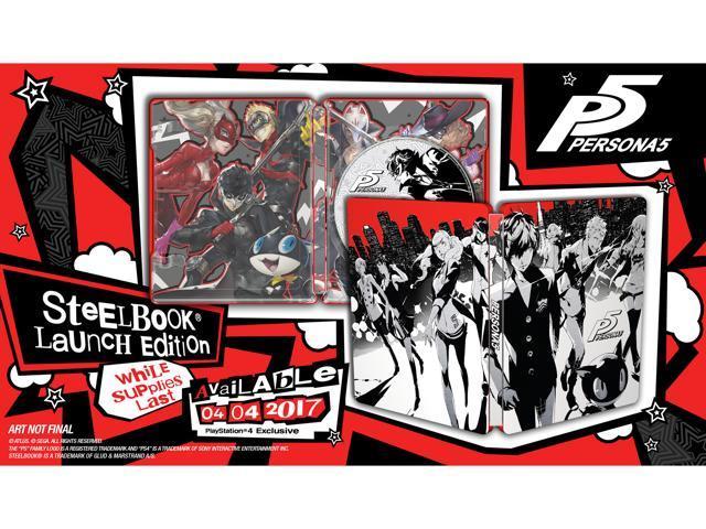Persona 5 - SteelBook Edition - PlayStation 4 - Newegg com