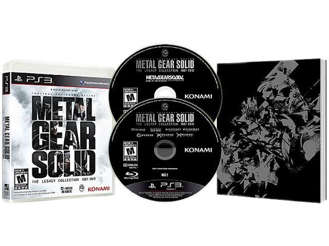 Metal gear solid: the legacy collection [playstation 3 ps3, 10.