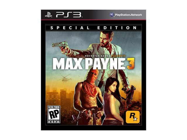 max payne 3 ps3 cover