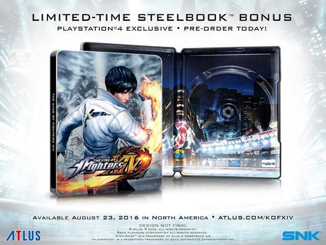 The King of Fighters XIV: SteelBook Launch Edition - PlayStation 4 -  Newegg com