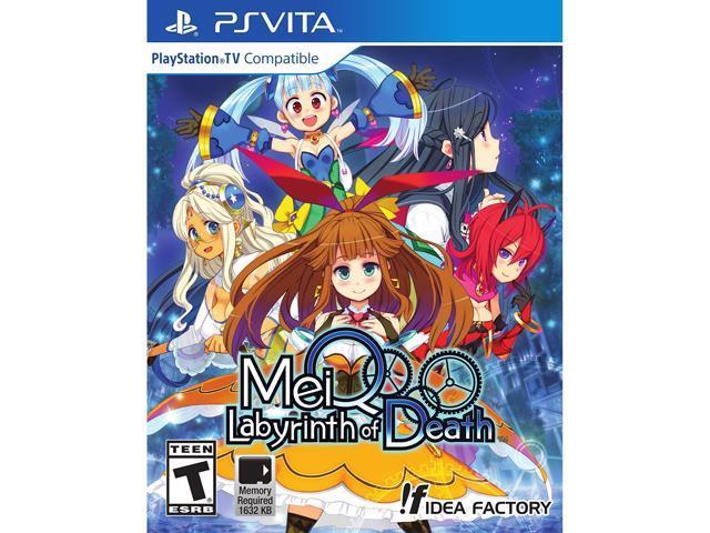 MeiQ: Labyrinth of Death PS Vita Games - Newegg com