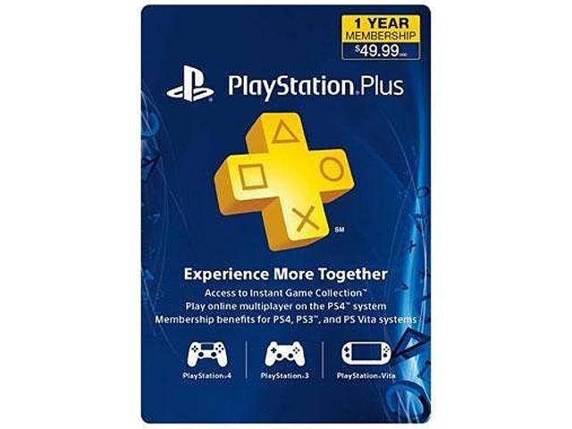 Sony PlayStation Plus Membership - 1 Year - Newegg com
