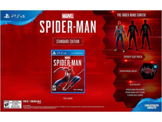 Marvel's Spider-Man - PlayStation 4 - Newegg com