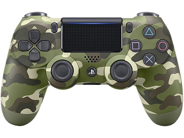 Sony DualShock 4 Wireless Controller for PlayStation 4 - Green Camouflage  (CUH-ZCT2) - Newegg com