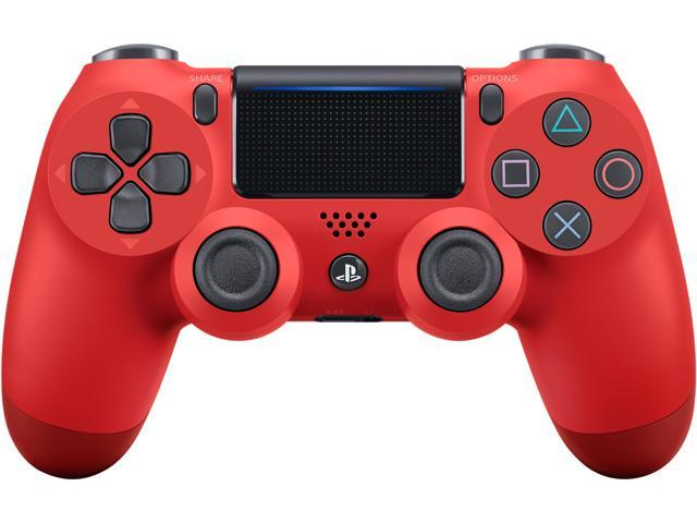 Dualshock 4 Wireless Controller For Playstation 4 Magma Red Newegg Com