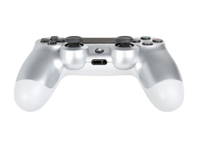 DualShock 4 Wireless Controller for PlayStation 4 - Silver - Newegg com