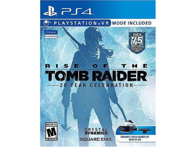 Rise Of The Tomb Raider 20 Year Celebration Playstation 4 Newegg Com
